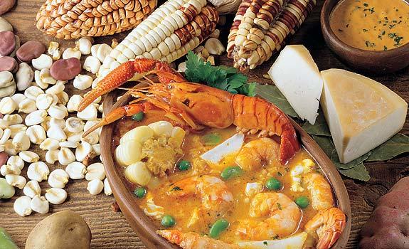 la gastronomia de chile: