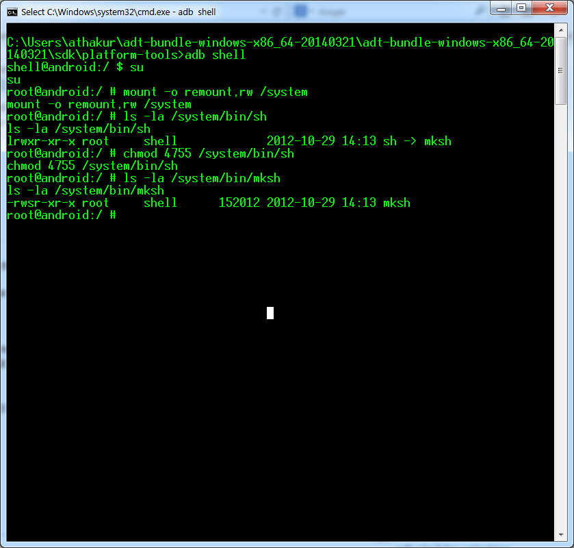[Shell][mksh][Scripting]::mksh-R50e-static-F… | Android ...
