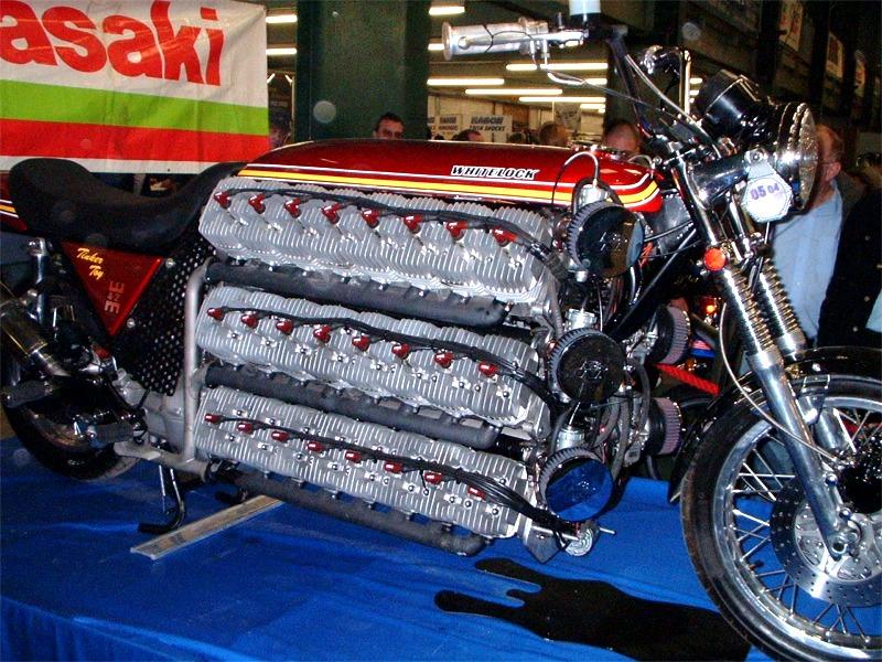 Justacargal Kawasaki 48 Cylinder Bike