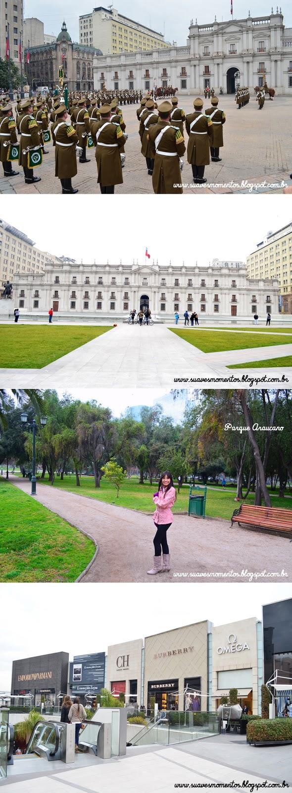 Minha viagem a Santiago do Chile