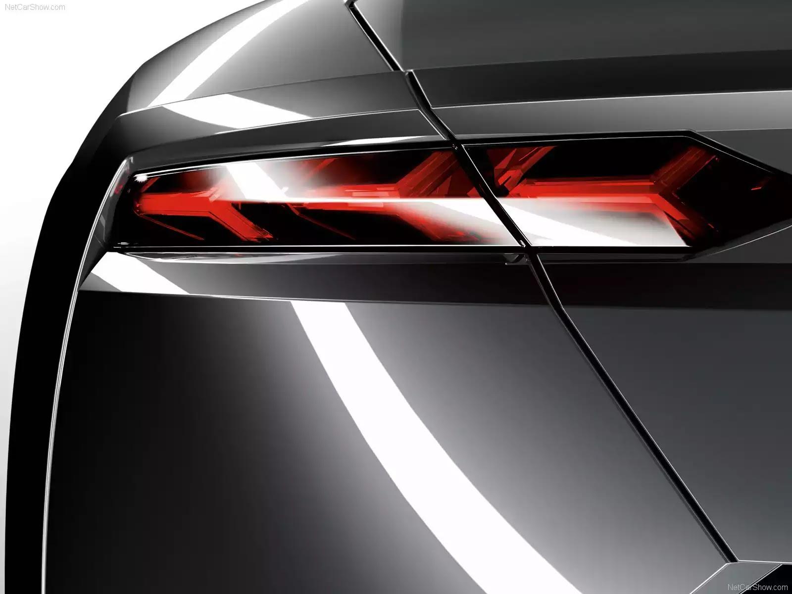 Hình ảnh siêu xe Lamborghini Estoque Concept 2008 & nội ngoại thất