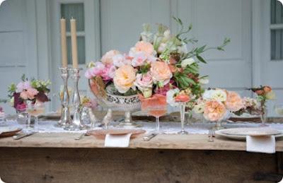 Imagens de Decoração para Jantar de Casamento