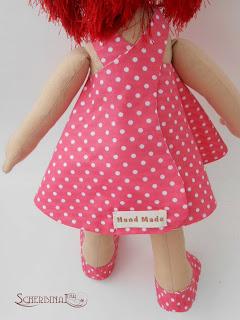 игровая текстильная кукла-карамелька Маруся