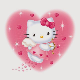 Hello Kitty Feliz San Valentín
