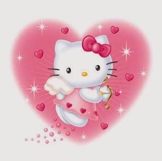 Hello Kitty Feliz San Valentín