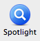spotlight of mac os x