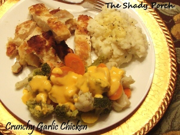 Crunchy Garlic Chicken #chicken #dinner #easy #best #baked