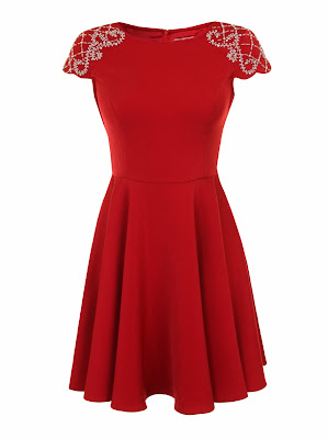 chi chi red dress