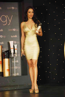 Malaika Arora at the launch of Sunsilk Kertinology