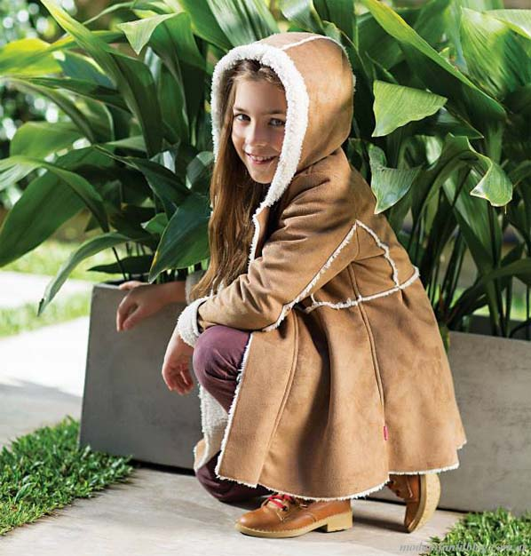 Modelos de abrigos para damas 2015