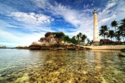 Gambar Pemandangan Alam Indonesia Pulau Lengkuas Belitung