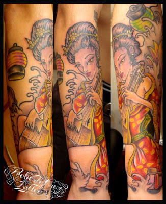 Fotos de Tatuagens de Gueixa