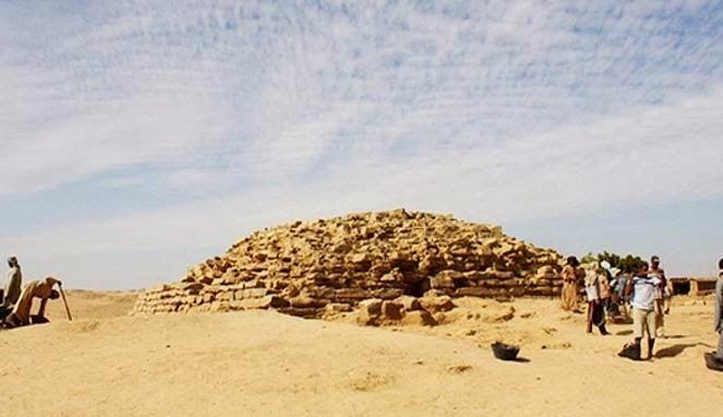 Inilah Piramida Yang Baru Ditemukan di Mesir