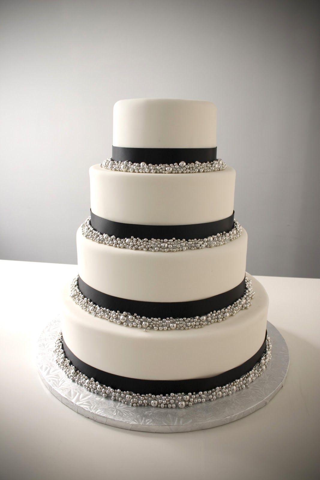 Simple Wedding Cakes 72 Cute Black Satin Ribbon with