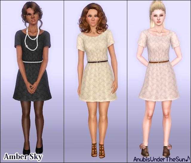Женщины | Платья AmberSkyDress_1