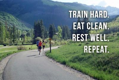 トレーニングの原則:運動、栄養摂取、休養を繰り返す