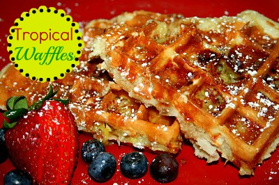 SusieQTpies Cafe: Tropical Waffles
