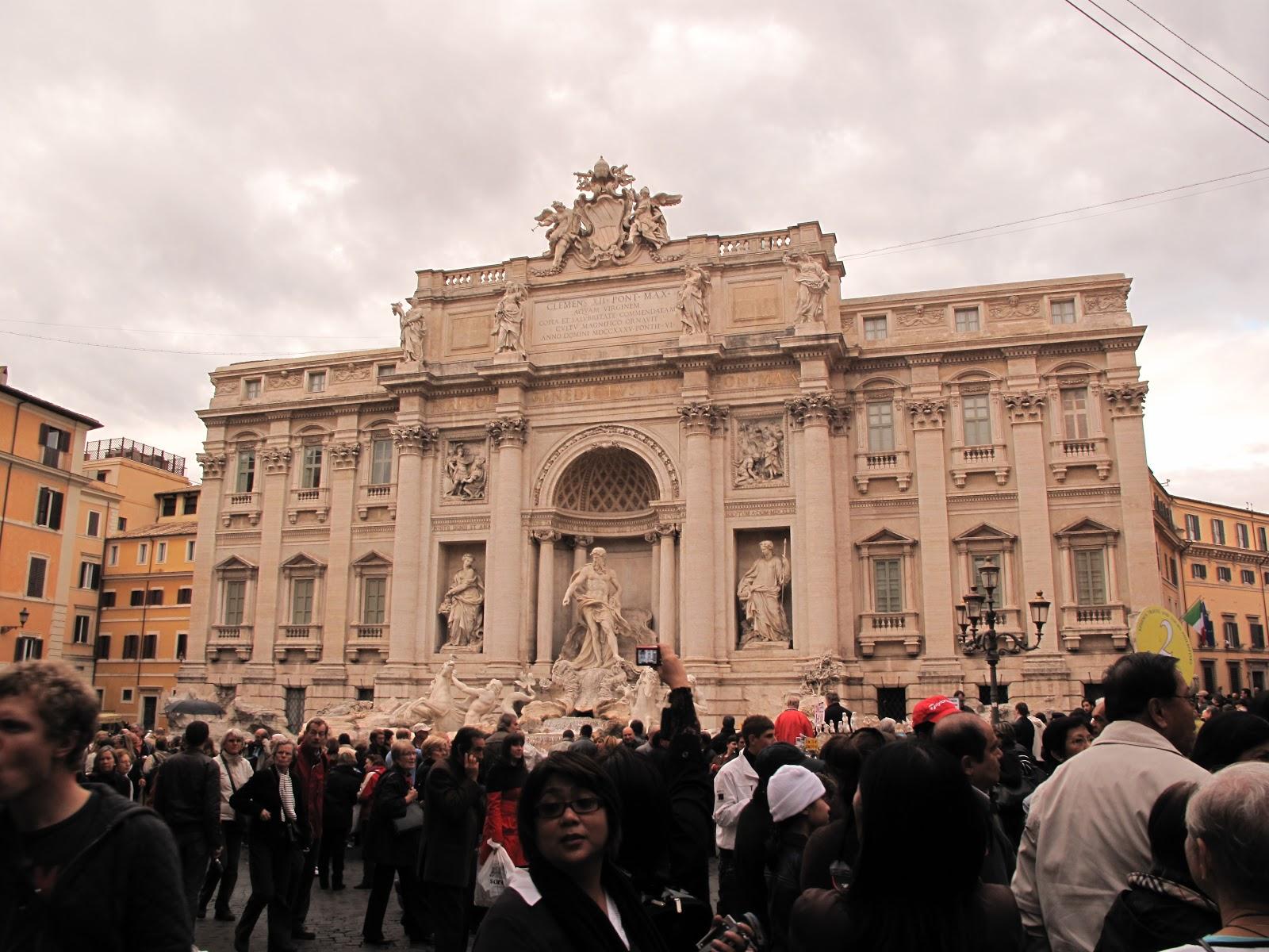 trevi fountain rome italy wallpapers - Trevi Fountain HD desktop wallpaper High Definition