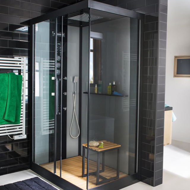 baignoire ou cabine de douche. Black Bedroom Furniture Sets. Home Design Ideas