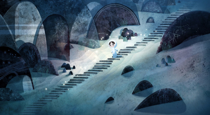 Song of the Sea directed by Tomm Moore and produced by  studio Cartoon Saloon