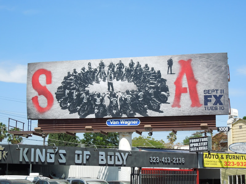 Sons of Anarchy season 5 billboard