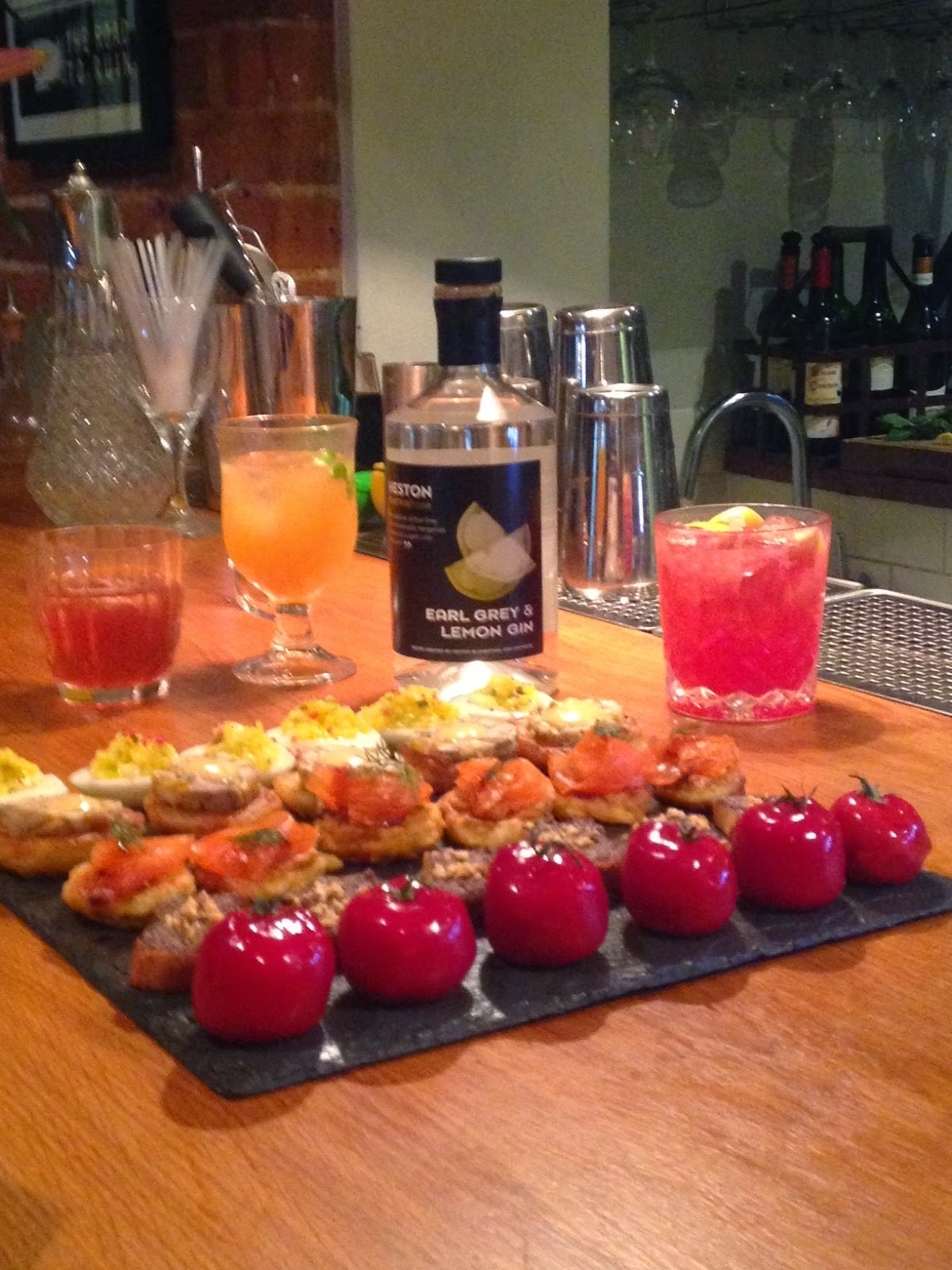Zpr soho a cherry picked press trip to herefordshire for Waitrose canape selection