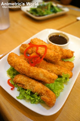 Crispy Fish Fingers at MyThai Kitchen in Il Terrazzo