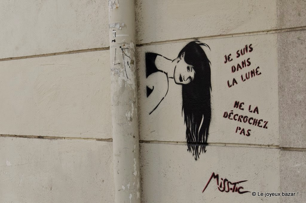 Paris - Butte aux Cailles - Miss Tic
