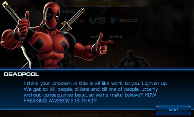 Deadpool Dialogue