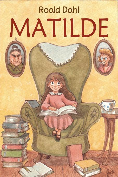 Risultati immagini per Matilde di Roald Dahl
