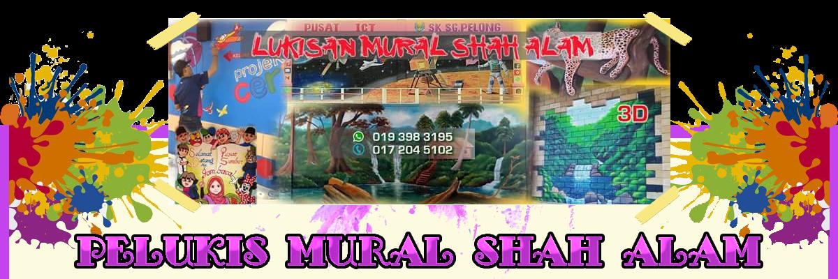 Pelukis Mural Shah Alam