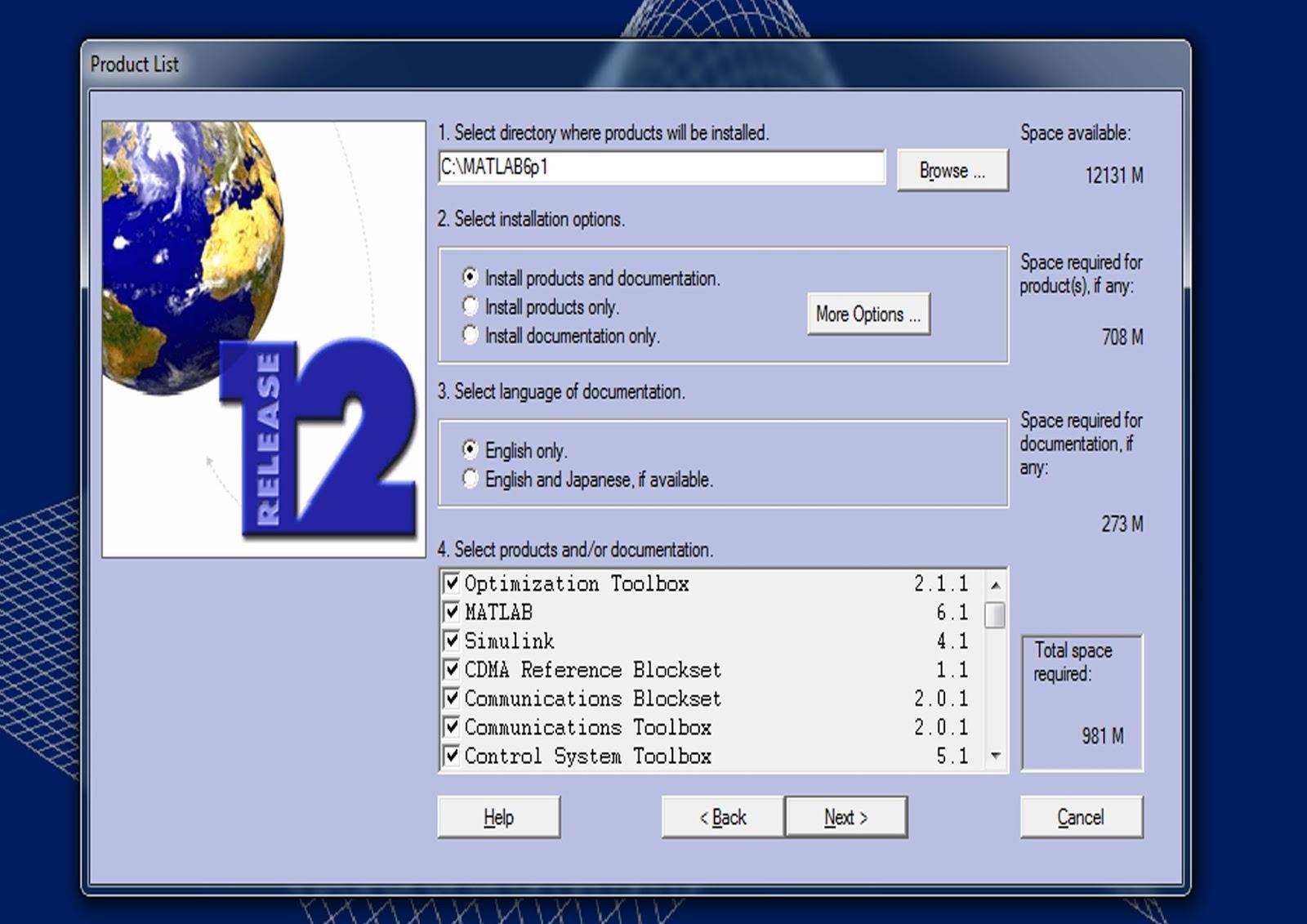 Install Matlab 6.1 Windows 7