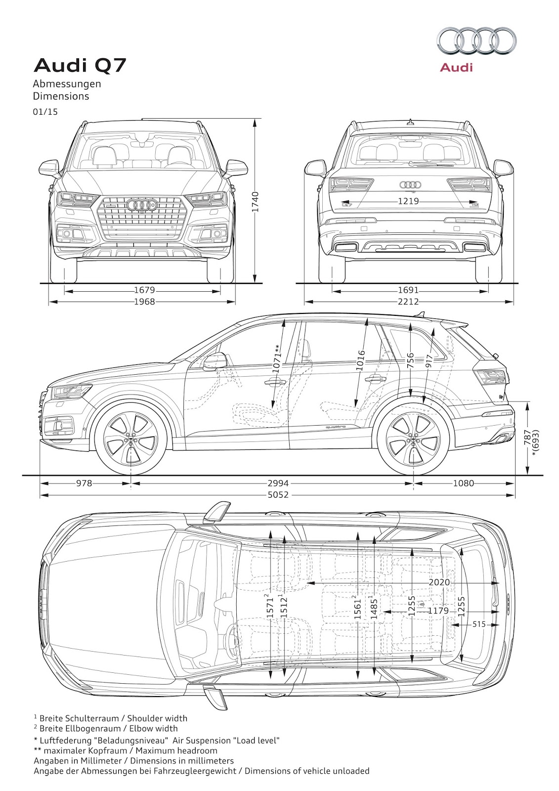 Worksheet. 2015 Grand Auto Show 2016 Audi Q7 Dimensions Engines and Etron