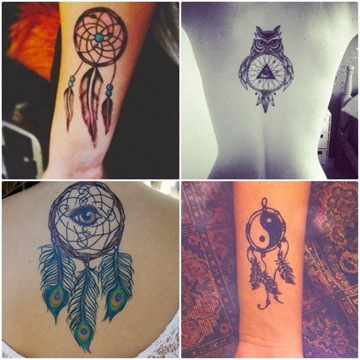 Excepcional Inspiração: tatuagens filtro dos sonhos. - Reacreditar RX36