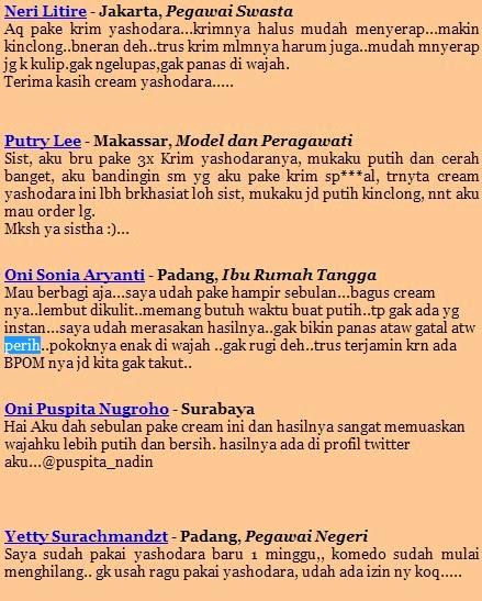 Cream Pemutih Wajah Aman Image