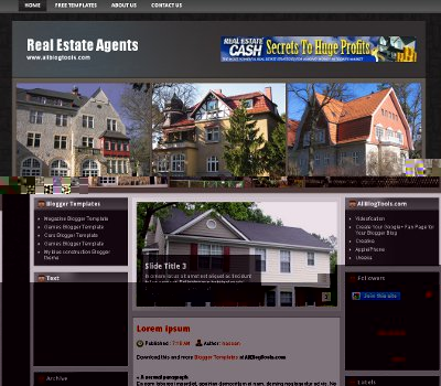 Template Blogger Real estate