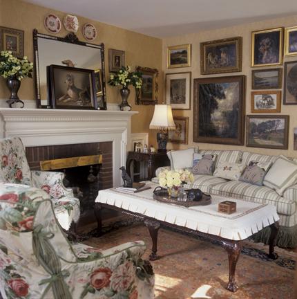 Speert Country Livingroom With Dog