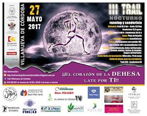 Reglamento III Trail Running y Senderista Nocturno de Villanueva de Córdoba