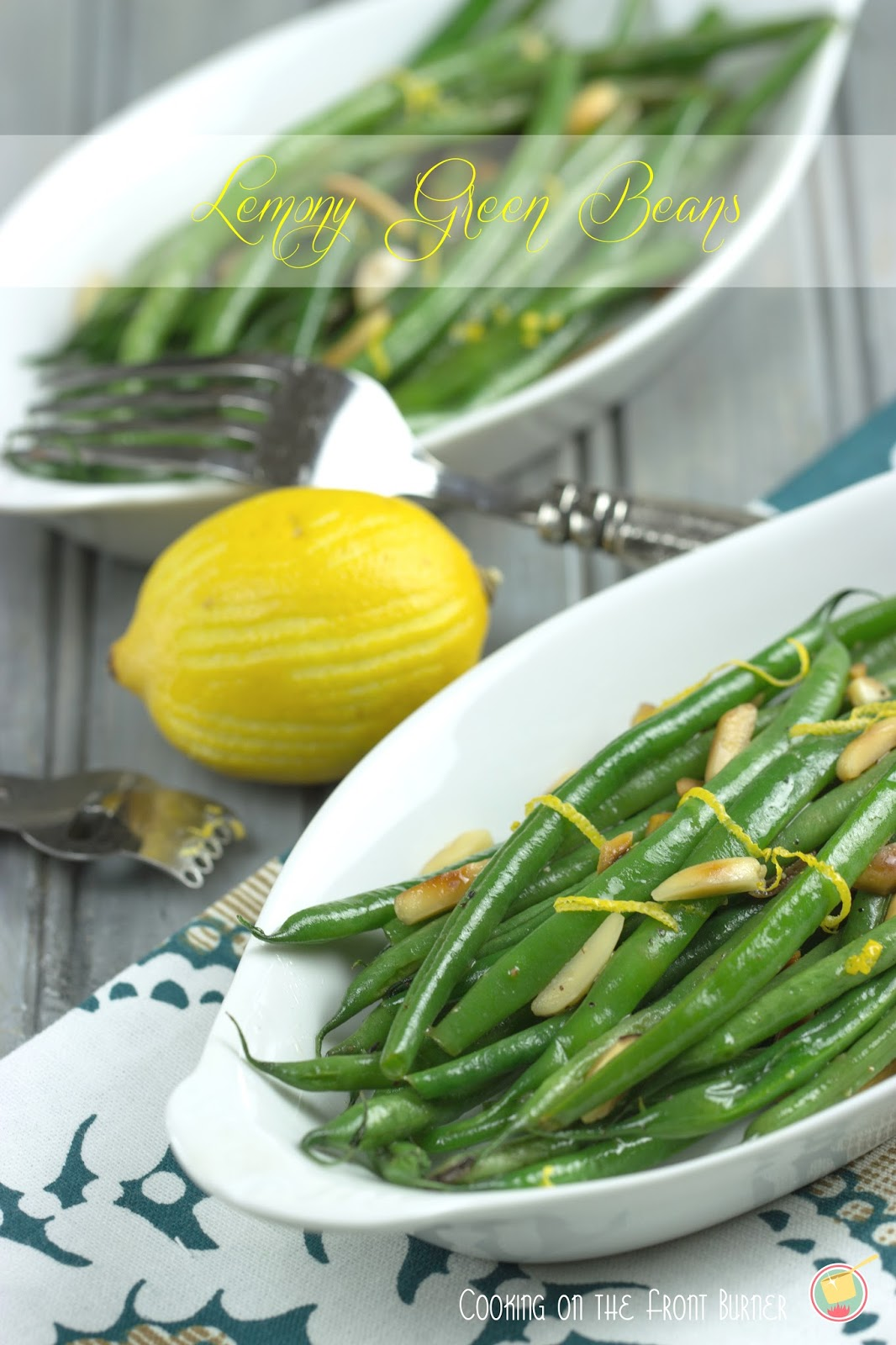 Lemony Green Beans | Cooking on the Front Burner #greenbeans #lemon