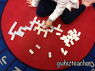 gwhizteacher, math games, make ten dominoes