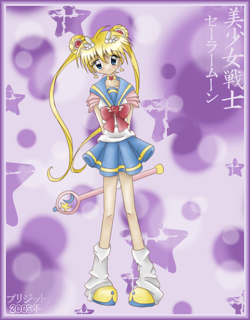 Sailor Moon por brigette