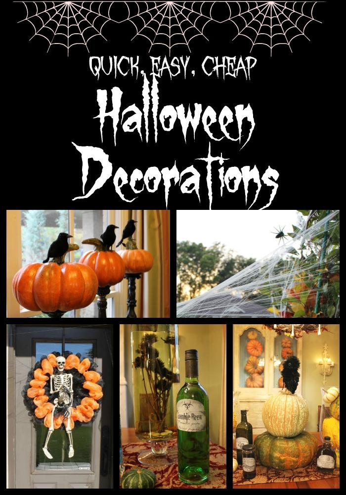 Miss Kopy Kat Easy Quick Cheap Halloween Decor