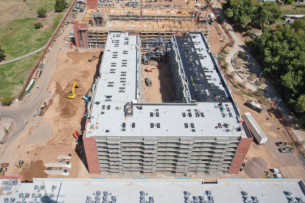 Starkweather Roofing Installs Roofs Of New Student Housing