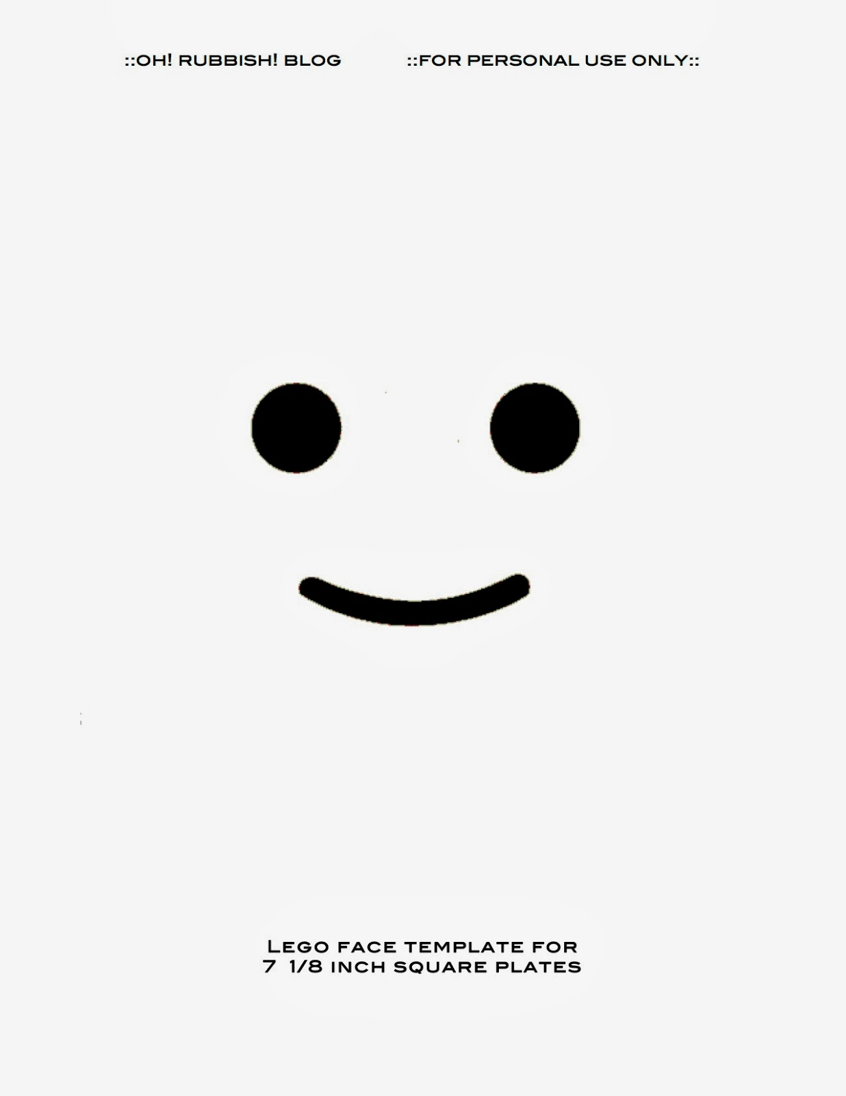 lego minifigure head template - the gallery for lego face decal template