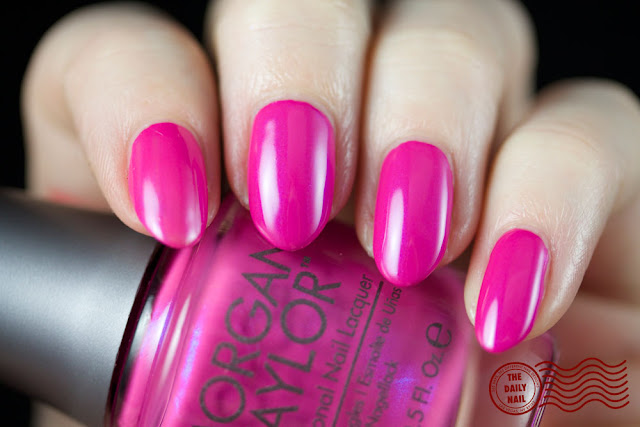 Morgan Taylor Ooh La La Amour Color Please swatch
