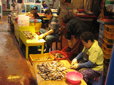 Fish market in Jeju City