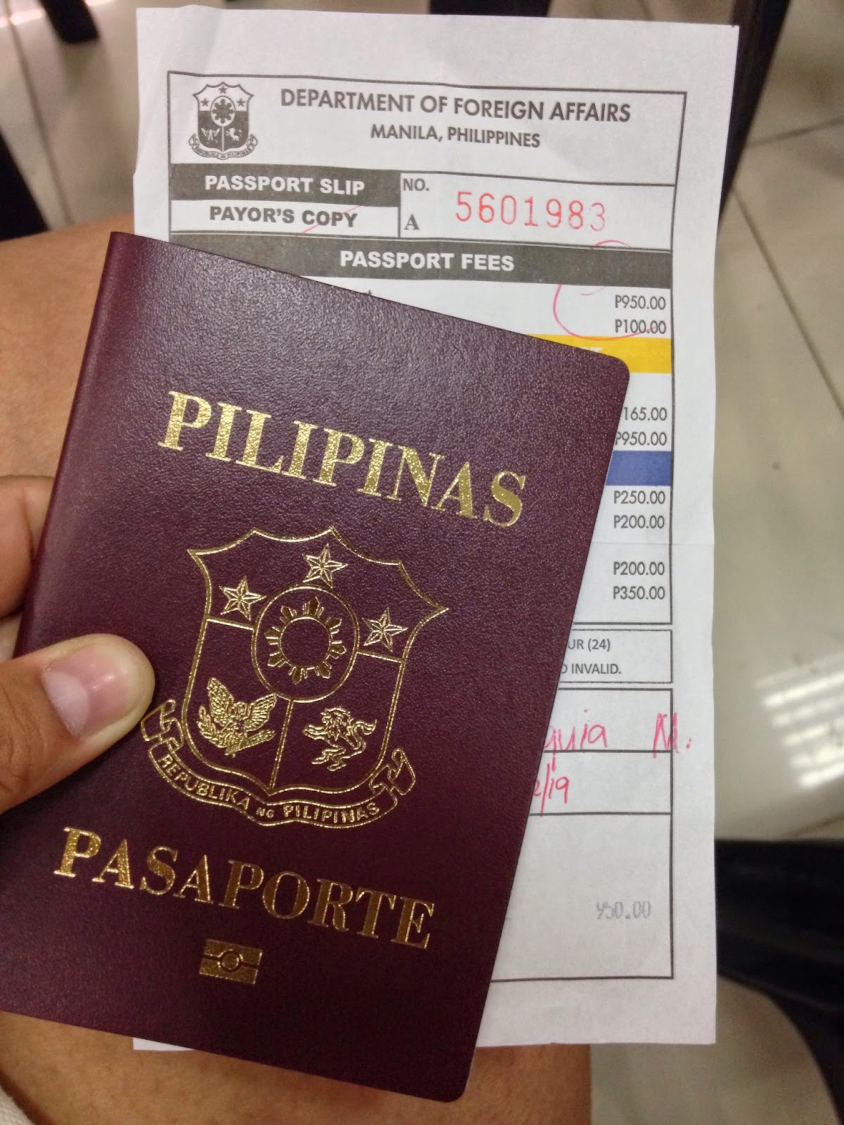 How to get a Passport - Food, Travel and Whatevs