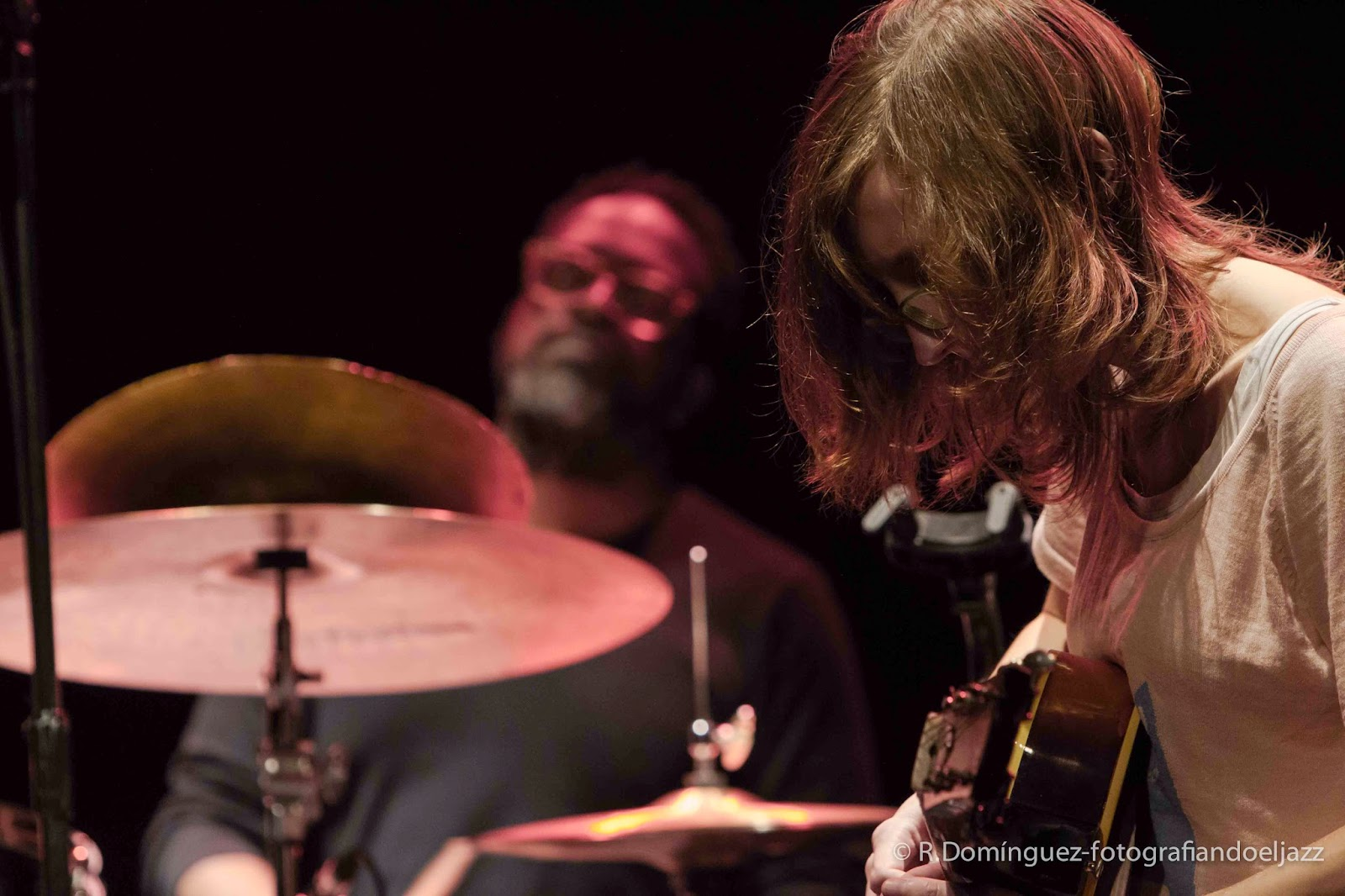 © R.Domínguez - Plymouth - Mary Halvorson - Gerald Cleaver