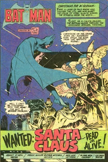 Batman in Wanted: Santa Clause -- Dead or Alive! from DC Super Star Holiday Special