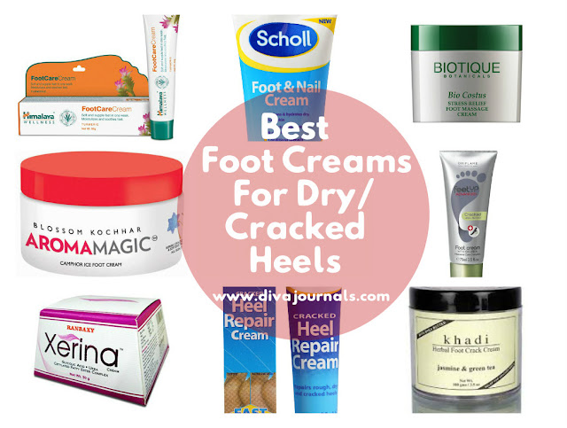 Best Foot Creams For Dry & Cracked Heels In India
